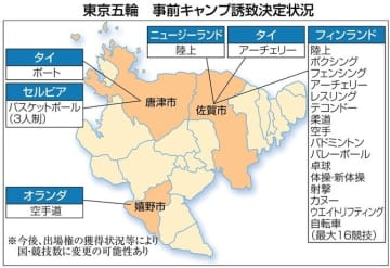 佐賀県3市、東京五輪へ準備着々 7月から事前キャンプ