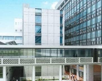 新設されるエネルギーセンター(中央)の完成予想図