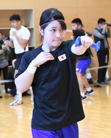 ボクシングの東京五輪アジア・オセアニア予選に出場する並木月海