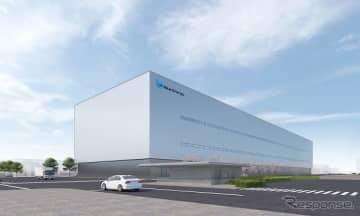 新工場の外観(イメージ)