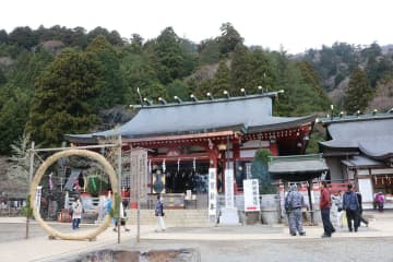 大山観光で人気の大山阿夫利神社下社