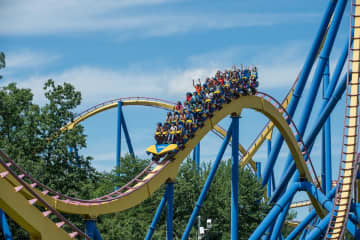 The Nitro roller coaster at Six Flags Great Adventure in Jackson, N.J. (Courtesy/Six Flags) (RONWYATTPHOTOS/)