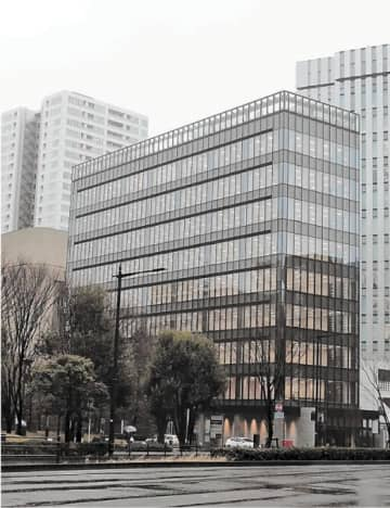 仙台市中心部では3年ぶりの新規オフィスビル供給となった仙台花京院テラス=仙台市青葉区