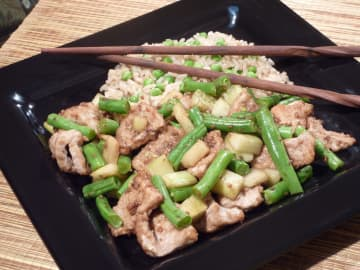 Veal stir-fry only takes a few minutes to cook. - Linda Gassenheimer/TNS/TNS