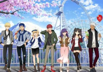 劇場版「Fate/staynight [Heaven's Feel]」×「富士急ハイランド」コラボ3月7日より開催決定!各キャラが園内を楽しむ描き下ろしイラスト公開