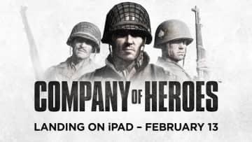 名作WW2RTS『Company of Heroes』iPad版が2月13日発売!日本語対応でApp Storeにて予約受付中
