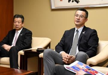 東京五輪の前哨戦、バレー男子・中垣内監督が意欲 京都で6月国際大会