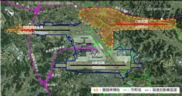 国土交通省が公表した成田空港のイメージ
