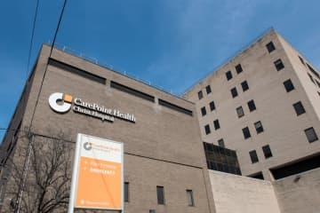 CarePoint Health - Christ Hospital in Jersey City. (Reena Rose Sibayan | The Jersey Journal) (Reena Rose Sibayan | The Jersey Journal/)