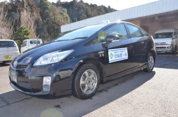 実証運行されている茨城町デマンド型乗り合いタクシー「ひぬま〜る」=茨城町内