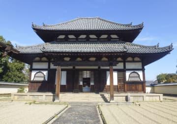 東大寺戒壇堂=4日、奈良市