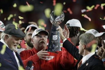 カンザスシティ・チーフスのヘッドコーチ(HC)アンディ・リード【AP Photo/Chris O'Meara】