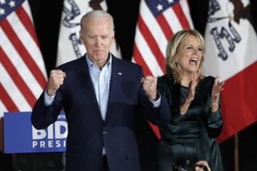 Did Hunter Biden damaged his father's presidential bid beyond repair? Joe Biden came in a distant fourth in the Iowa Caucuses.(Marcio Jose Sanchez/)