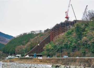 新東名工期延期でスマートIC23年度開通へ【山北町】