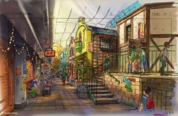 ジブリパーク『千と千尋』食堂街も再現!総事業費は340億円