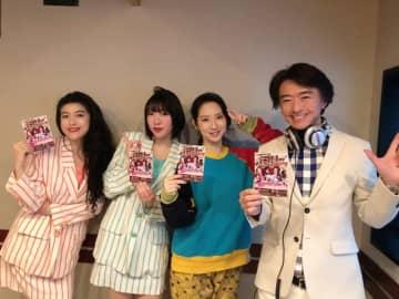 (左から)益子寺かおりさん、中尊寺まいさん、ファーストサマーウイカ、DJ OSSHYさん