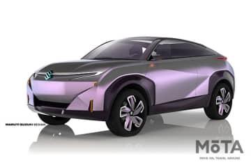 スズキ、インド・オートエキスポへ出品 Concept FUTURO-e