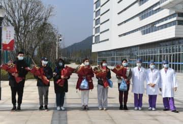 新型肺炎患者7人が退院 浙江省