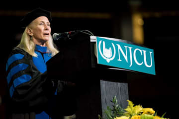 NJCU President Sue Henderson (Reena Rose Sibayan | The Jersey Journal/)
