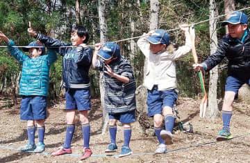 里山遊びを体験(昨年)