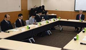 意見交換した福島地裁委員会