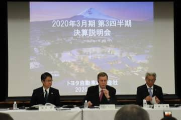 トヨタ、2020年3月期の業績見通しを上方修正