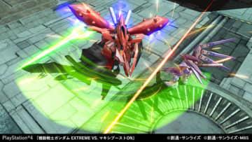 "PS4『機動戦士ガンダム EXTREME VS. マキシブーストON』非プレイアブルも合わせ、300以上の機体が登場!  圧巻の""36作品""参戦、最新画像も多数到着"