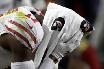 サンフランシスコ・49ersのエマニュエル・サンダース【AP Photo/Chris O'Meara】