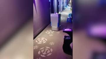 AIロボットが感染防止に一役 浙江省温州市