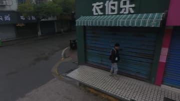 小型無人機がマスクなしで出歩く人をパトロール 湖南省懐化市
