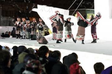 「ウポポイ」舞踊や音楽でPR さっぽろ雪まつり 宇梶さん「多くの人訪れて」