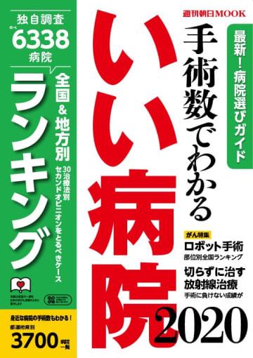 写真は『手術数でわかるいい病院2020』(朝日新聞出版刊)