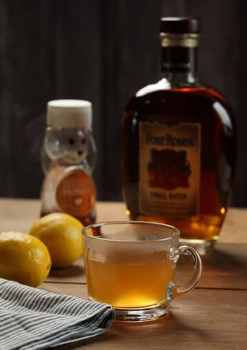 The hot toddy is the simplest of drinks: Combine your choice of brown spirit, such as bourbon or rum, with lemon juice, honey and hot water. - Abel Uribe/Chicago Tribune/TNS