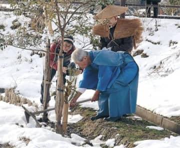 遺志継ぎ儀礼後世に 輪島で田の神様まつり、世話役が急逝