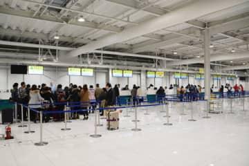 関西国際空港、国際線の91%が欠航 3月23日から28日まで