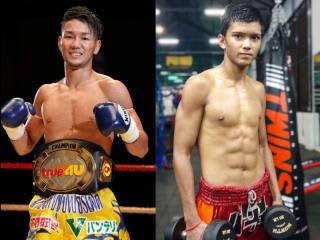 福田海斗(左)がルンピニースタジアムのメインに登場、新鋭・ドークマイパーと対戦
