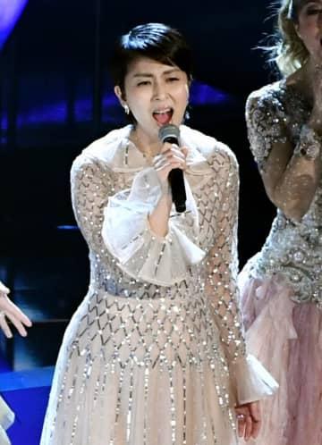 アカデミー賞で歌唱した松たか子 - Kevin Winter / Getty Images