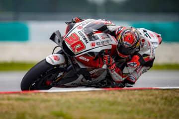 MotoGP:中上、手術した右肩の影響により厳しいセパンテストを終える。「カタールテストでは80パーセントに」