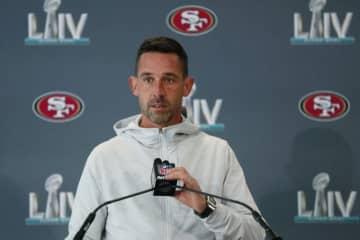 サンフランシスコ・49ersのヘッドコーチ(HC)カイル・シャナハン【AP Photo/Wilfredo Lee】