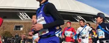 区間賞を取った(左から)小川龍悟、南隼人、坂本伊葡希