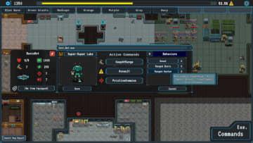 雑用ロボで侵略者に挑む戦略ローグライク『Bot Net: Ramshackle Robotics』Indiegogo開始!