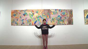 作品がルーブル美術館に! 小学5年アーティスト ルチカさん 画像