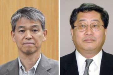 総務省の鈴木茂樹・前事務次官と日本郵政の鈴木康雄・元上級副社長