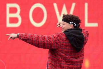 カンザスシティ・チーフスのパトリック・マホームズ【AP Photo/Orlin Wagner】
