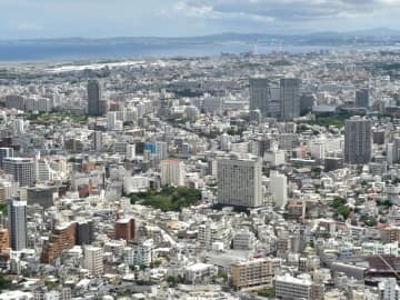 那覇の市街地