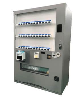 「ChargeSPOT」搭載の自動販売機
