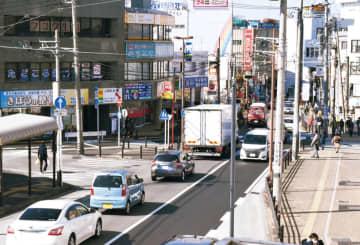 踏切を起点に慢性的な渋滞が発生する鶴ヶ峰2号踏切