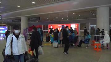 杭州東駅、利用者が次第に増加 秩序立った感染対策続く 浙江省