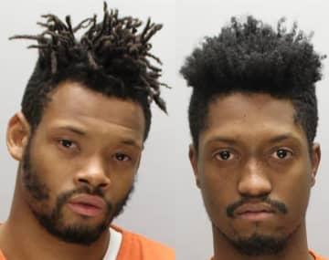 Curtis Miller, 26, and Ryan Wilkins, 24, both of Camden (Camden County Prosecutor's Office/)