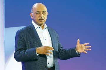 4月6日付でCEOに就任する米IBMのアービンド・クリシュナ シニア・バイスプレジデント
